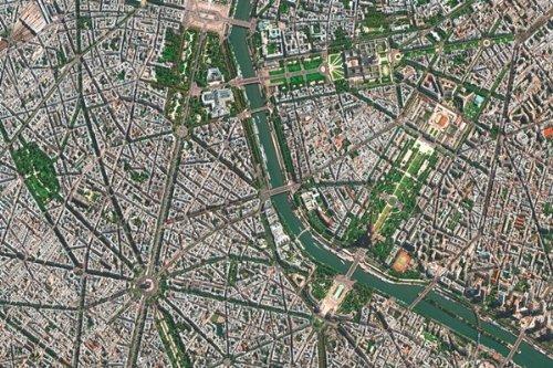 (Sateliten Puzzle-Paris-1000 Teile)