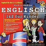 Multi Media Englisch 1 & 2 für Kinder, 2 CD-ROMs Englisch für die 5. und 6. Klasse. Interaktives Lernprogramm mit Sprachausgabe. Für Windows 95/98/NT