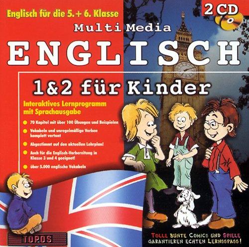 Multi Media Englisch 1 & 2 für Kinder, 2 CD-ROMs Englisch für die 5. und 6. Klasse. Interaktives...