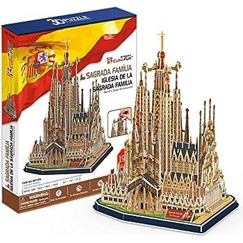 Toyland 50563 Sagrada Familia 3D, Puzzle, 194 Pezzi