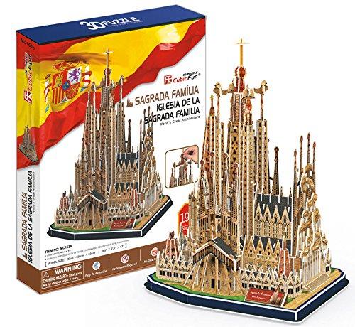 CubicFun – Puzzle 3D Sagrada Familia (CPA Toy MC153)