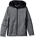 Under Armour Boys' Swacket FZ,Black/Black, Youth Small