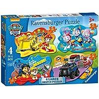 Ravensburger Paw Patrol 4große geformte Puzzle (10,12,14,16pc)