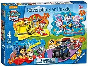 Ravensburger Paw Patrol 4 Puzzles de sierra grandes (10,12,14,16pc)