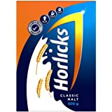 Horlicks Health & Nutrition Drink 500 g Refill Pack, For immunity and 5 signs of growth (Classic Malt)
