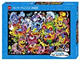 HEYE 29767 - New Psychedoodlic Standard, Jon Burgerman, 2000 Teile Puzzle