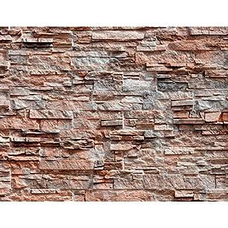 Fototapete Steinwand Vlies Wand Tapete Wohnzimmer Schlafzimmer Büro Flur  Dekoration Wandbilder XXL Moderne Wanddeko   100