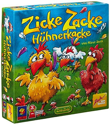 Preisvergleich Produktbild Zoch 601121800 Zicke Zacke Hühnerkacke, Kinderspiel des Jahres 1998