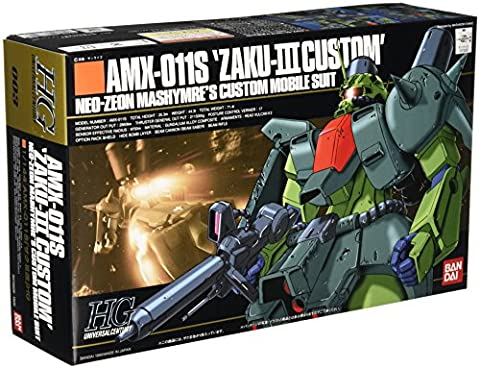 ZZ Gundam HGUC 003 AMX-011S Zaku III Custom 1/144 Model Kit