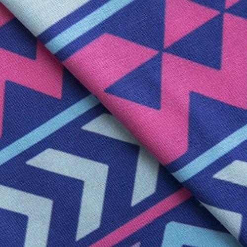 Fringoo - Débardeur - Femme multicolore Multicoloured Taille Unique Aztec Pink Purple