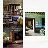 ros byam shaw perfect english and french 3 books collection set - (perfect english farmhouse,perfect english townhouse,perfect french country: inspirational interiors from rural france)