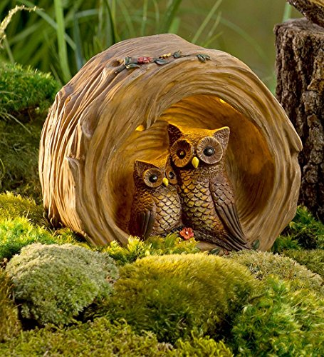 Hibou de la forêt en décalage (Journal Sculpture