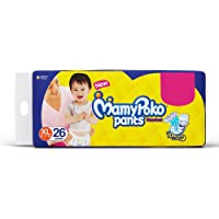 MamyPoko Pants Standard Baby Diapers, Extra Large (12 - 17 kg), Pack of 26