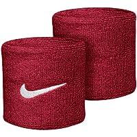 Nike Red - Muñequeras de tenis para hombre color rojo