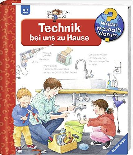 Preisvergleich Produktbild Ravensburger tiptoi ® Buch Wieso Weshalb Warum - Technik bei uns zu Hause