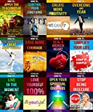 12 books in 1 - Happiness, Self-Esteem, Personal Growth, Stress Management, Self-Help, Mindfulness & Meditation, Body-Mind-Spirit, Motivational & Inspirational, ... How To Feel Good, How To Heal Yourself)