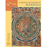 Tibetan Buddhist Mandala 1,000-Piece Jigsaw Puzzle (Pomegranate Artpiece Puzzle)