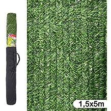 Ldk Garden 82188 - Seto artificial de ocultación para jardín, 500 x 150 x 20