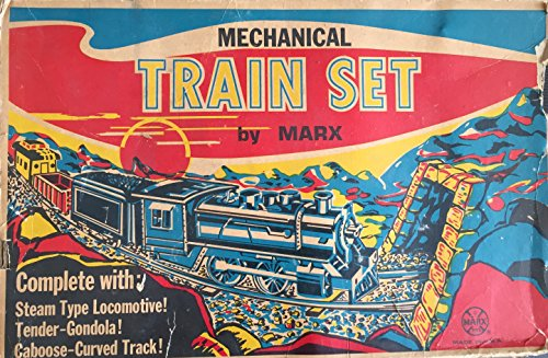 vintage-1970-louis-marx-mechanical-train-set-clockwork-wind-up-operated-union-pacific-complete-in-th