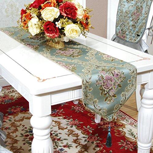 LINA-Tabella bandiera colazione continentale di lusso moderno goffrato americano Jacquard tavolo da pranzo bandiera bandiera (35 Flags)