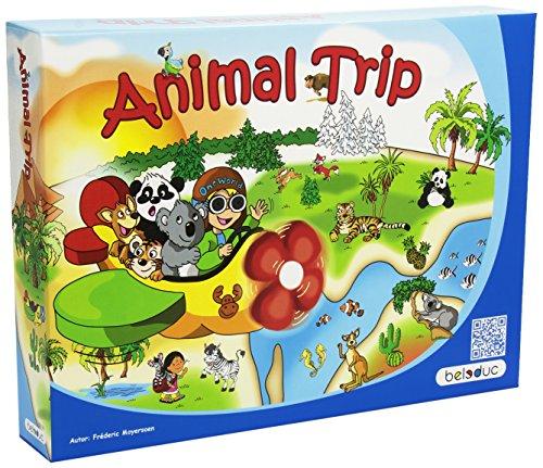 Preisvergleich Produktbild Beleduc BEL22730 - Animal Trip One World, Brettspiel