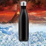 Vakuum Edelstahl Trinkflasche HeyBeauty 500 ml Doppelwandiger...