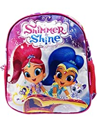 Shimmer And Shine Sparkle Zaino Infantil per Bambini Utile per Asilo come  Portamerenda e Tempo Libero 7b2fa7bdf76c