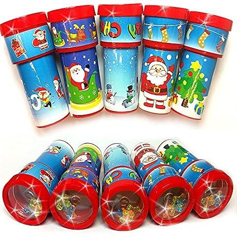 German Trendseller® - 12 x Weihnachts Kaleidoskop ┃ Weihnachten ┃