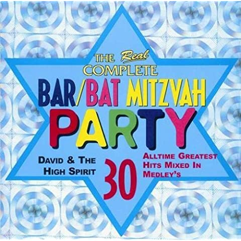 Real Complete Bar Bat Mitzvah by David & High Spirit [Music CD]