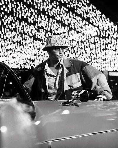 Moviestore Johnny Depp als Raoul Duke in Fear and Loathing in Las Vegas 25x20cm Schwarzweiß-Foto