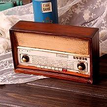 Su @ da Bar/Vintage/Antiguo/decoración/adornos/personalidad/Vintage Radio/2pcs