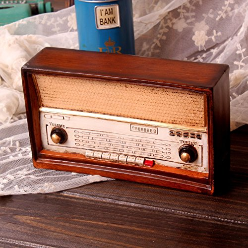 Su @ da Bar/Vintage/Antiguo/decoración/adornos/personalidad/Vintage Radio/2pcs picture