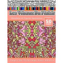 Livres de Coloriage Pour Adultes Les Vitraux Du Plaisir: Mandalas et Figures Apaisantes Pages de Coloriage Pour Adulte