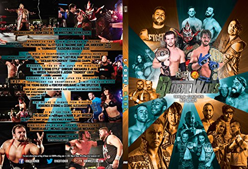 Official Ring of Honor & New Japan Pro Wrestling Present: Global Wars 2014 DVD