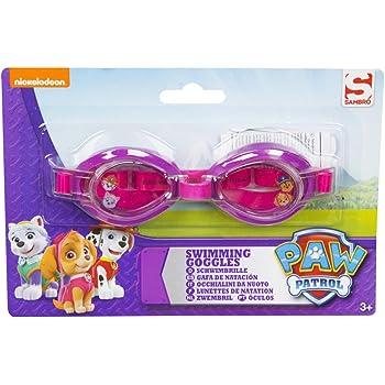 08640007f58 LND Gifts Paw Patrol Girls Swimming Goggles  Amazon.co.uk  Sports ...