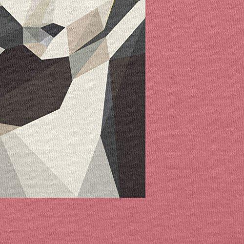Texlab–Low Poly Trooper–sacchetto di stoffa Pink