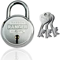 RAMSON Ranger Double Locking 6 Levers RoundLock (50MM)