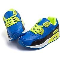 Scarpe Ginnastica Bambino Ttraspirante Ragazza Scarpe Sportive Ragazzo Leggera Hook And Loop Anti Scivolo Sneaker…