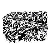 45 Stücke Aufkleber Transparente Graffiti Decals Bumper Stickers für Auto, Skateboard, Reisekoffer, Motorräder, Fahrräder, Boote, Laptop, Skatboard und auf Glatte Oberflächen