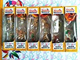 #5: Anshartandcraft DIY Rakhi Making Kits for kids : Set of 6 Pcs: 6 Design (Rakhi Making Kits 1)