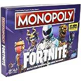 Monopoly Fortnite-editie bordspel geïnspireerd op de videogame Fortnite, vanaf 13 jaar – Engelstalige Editie