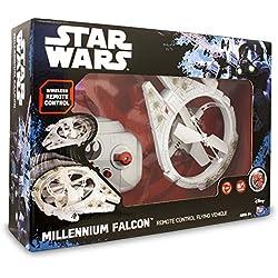 Star Wars Drone Volador Millenium Falcon, Unico (Giochi Preziosi TWR08000)
