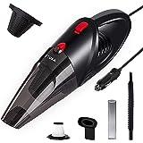 TUSA Handheld Car Vacuum Cleaner, High Power Corded Vacuum Cleaner (Black)