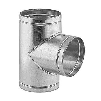 Großartig Ø 100 mm Lüftungsrohr T-Stück 90° rund: Amazon.de: Baumarkt IT67