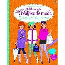 J'habille mes amies - Créatrice de mode : Collection Automne - Autocollants Usborne