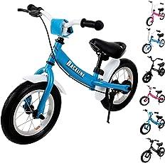 Deuba Kinder Laufrad - ab 2 Jahre | Farbe & Modellwahl | mit Bremse | Höhenverstellbar | ergonomischer Sattel | für Mädchen & Jungen