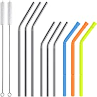 Collapsible Straw Folding Straw Set - Stainless Steel