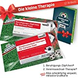 Geschenk-Set: Die Kleine Therapie für Fortuna Düsseldorf-Fans   2X süße Schmerzmittel für Fortuna Düsseldorf Fans Fanartikel der Liga, Besser ALS Tasse, Kaffeepott, Becher & Fahne