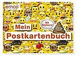 Emoji: Mein Postkartenbuch: Postkartenbuch mit 15 lustigen Postkarten und Stickern