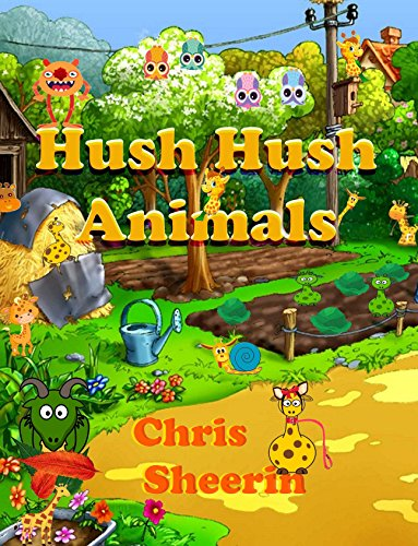 Hush Hush Animals (English Edition) eBook: Chris Sheerin: Amazon ...